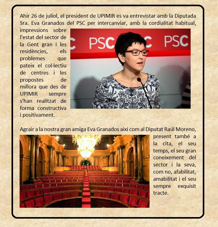 REUNIO EVA GRANADOS 26-7-16